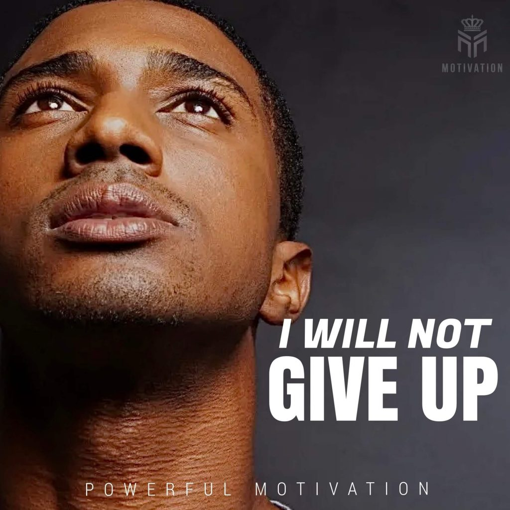 i will not give up